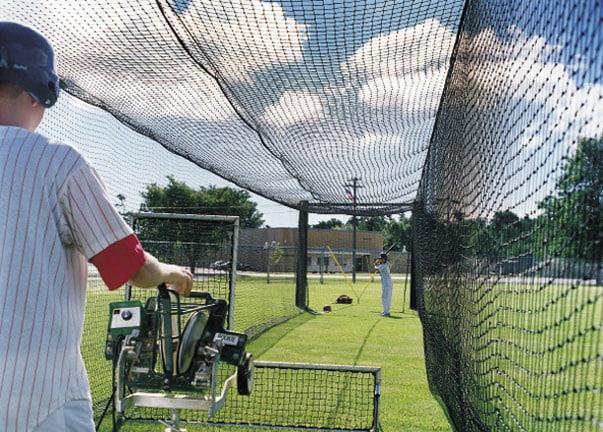 rent baseball pitching machine